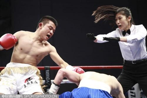 拳力至尚职业拳手比赛